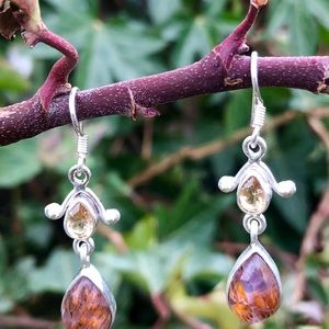 Cacoxenite Earrings